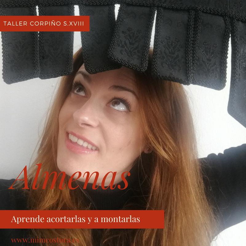 indumentaria valenciana almenas