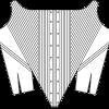 JUSTILLO_DEL corset o justillo para niña de labradora - PATRONES- indumentaria regional