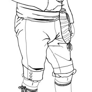 Calzón, pantalón del s. XVIII para indumentaria masculina regional e histórica