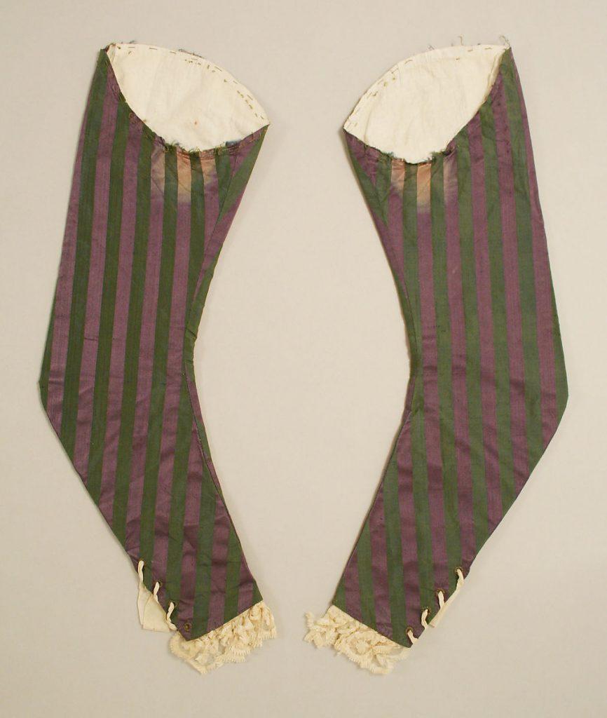 Mangas del siglo XVIII.