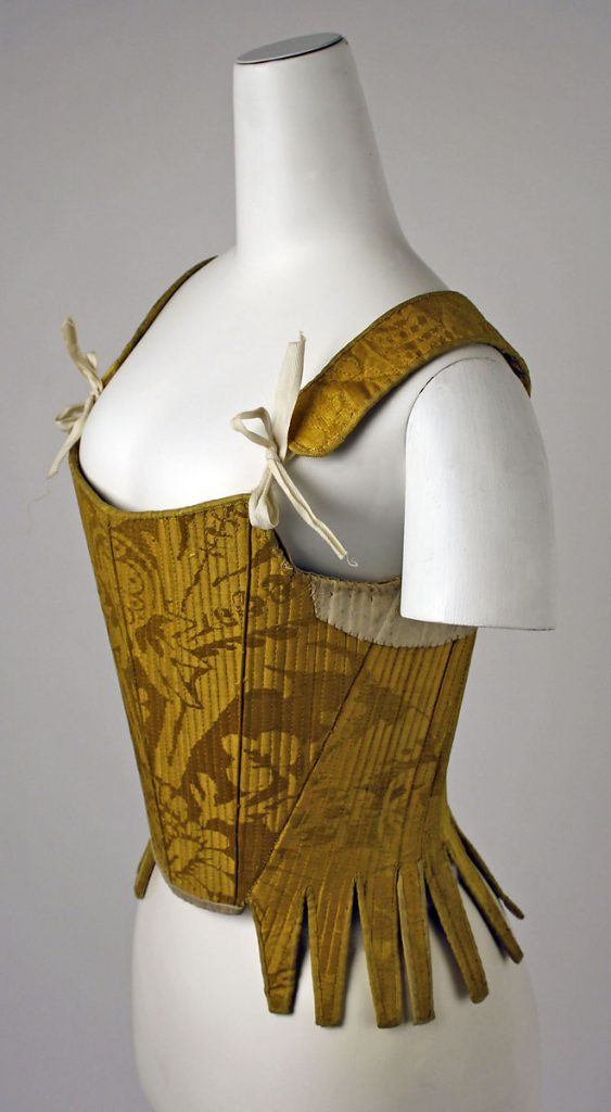 Corset early 18th century Spanish.