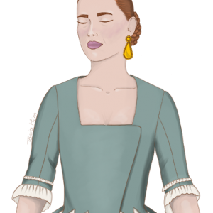 "Jubón del s. XVIII cruzado, modelo ""ONA"""