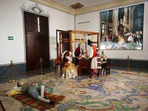 los mercaderes de la seda_exposición de indumentaria tradicional