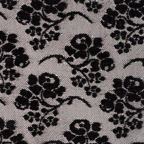 """Chenilla labrada modelo """"Anais"""" color negro-gris"""