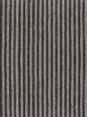 Chenilla listada color gris oscuro-blanco