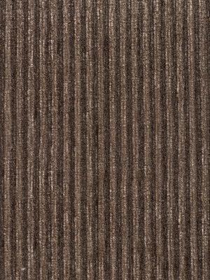 Chenilla listada color moka-marrón medio