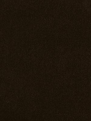 Terciopelo algodón marrón oscuro