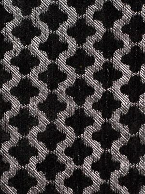 """Chenilla labrada modelo """"Trevol"""" color negro-gris"""
