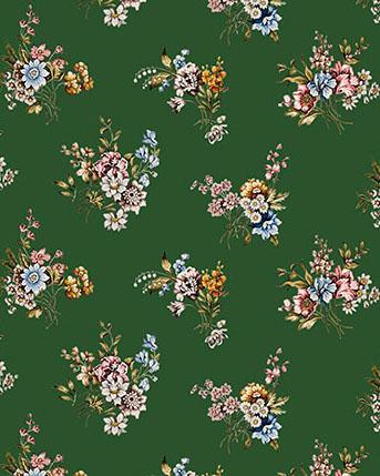 Indiana flores silvestres color verde_1
