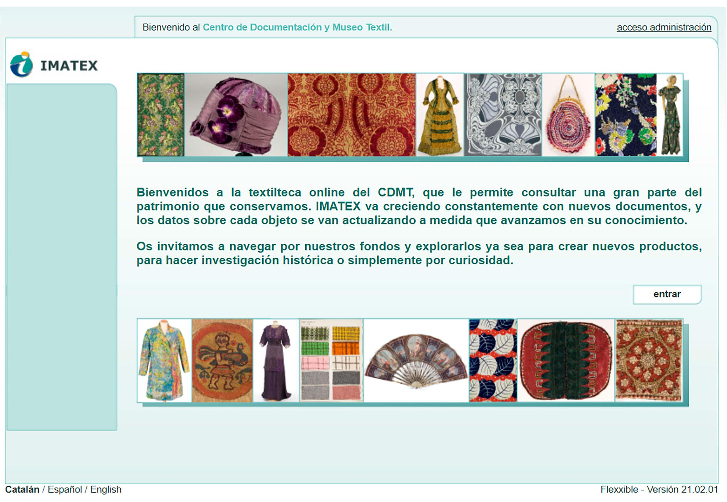 Fondos de indumentaria _ IMATEX _ Museo textil de Terrassa
