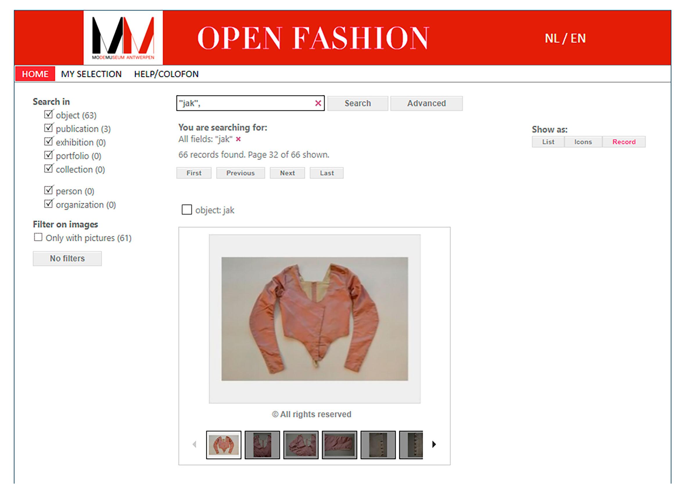 Fondos de indumentaria _ MOMU_Museo de moda de Bélgica