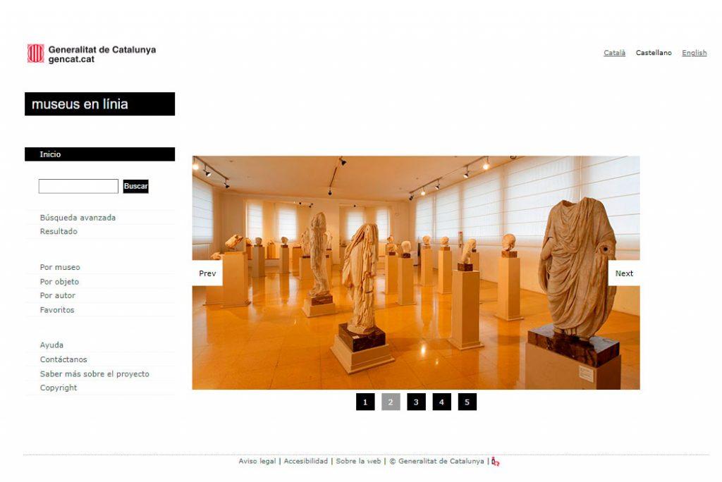 Fondos de indumentaria _ BASE DE DATOS MUSEOS EN LÍNEA DE CATALUNYA
