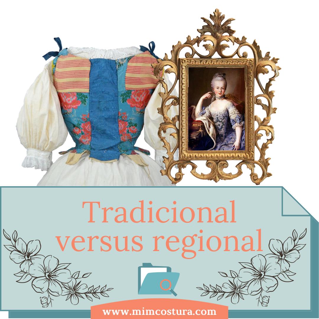tradicional versus regional